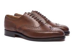 Chaussures du ` s d'hommes Image libre de droits