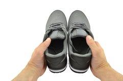 Chaussures du ` s d'hommes d'été Images libres de droits