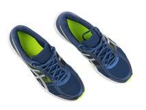 Chaussures du ` s d'hommes pour pulser d'isolement sur le fond blanc Configuration plate Image stock