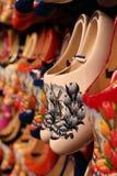 Chaussures en bois à Amsterdam Photo libre de droits