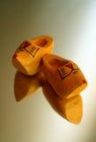 Chaussures en bois Photo libre de droits