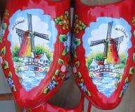 Chaussures en bois hollandaises Image libre de droits