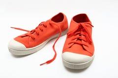 Chaussures en caoutchouc Photographie stock libre de droits