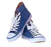Chaussures en caoutchouc, chaussures de tennis Photographie stock libre de droits