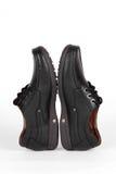 Chaussures en cuir noires Photo stock