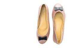 Chaussures et chaussures pour la femme Images stock