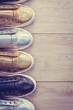 Chaussures et espadrille de mode Photographie stock
