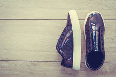 Chaussures et espadrille de mode Images libres de droits