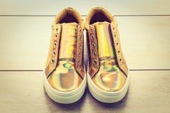 Chaussures et espadrille de mode Photo libre de droits