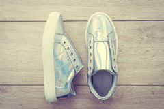 Chaussures et espadrille de mode Images stock