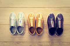 Chaussures et espadrille de mode Photographie stock libre de droits