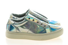 Chaussures et espadrille de mode Photos libres de droits