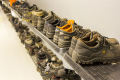 Chaussures et espadrilles photo stock