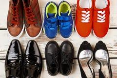Chaussures et espadrilles formelles Images libres de droits