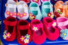 Chaussures faites de main Photographie stock