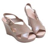 Chaussures femelles Image libre de droits