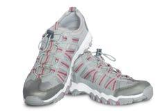 Chaussures femelles grises Image libre de droits