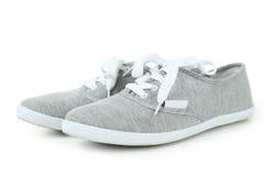 Chaussures grises Image libre de droits