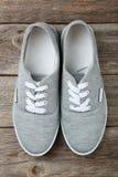 Chaussures grises Images libres de droits