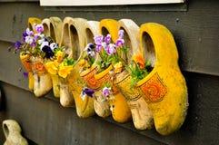 Chaussures hollandaises traditionnelles Image libre de droits