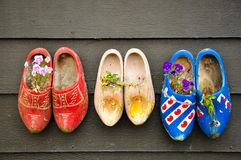 Chaussures hollandaises traditionnelles Image stock