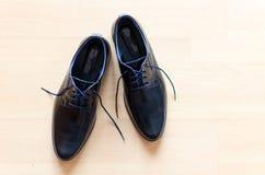 Chaussures noires élégantes Image stock