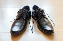 Chaussures noires Image stock