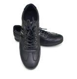 Chaussures noires de sport Photographie stock libre de droits