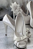 Chaussures nuptiales -2 Images stock
