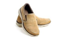 Chaussures occasionnelles de Brown Image libre de droits
