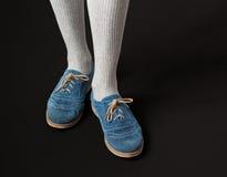 Chaussures occasionnelles de femmes Photo libre de droits