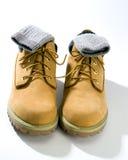 Chaussures occasionnelles raboteuses Image libre de droits