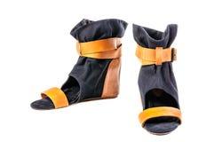 Chaussures, paires de chaussures femelles Photo stock