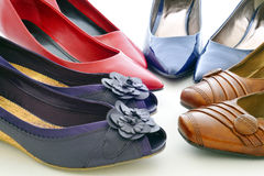 Chaussures, pompes Images stock