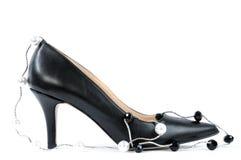 Chaussures pour des femmes avec le talon haut Image stock