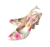 Chaussures pour l'été Image libre de droits