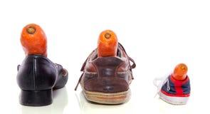 Chaussures pour le Sinterklaas hollandais Images stock