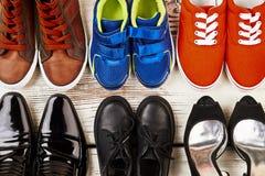 Chaussures pour le travail et la récréation Images stock