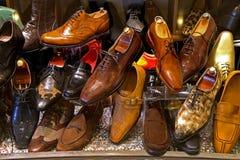 Chaussures pour les hommes Photo libre de droits