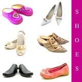Chaussures réglées Image libre de droits