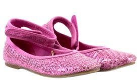 Chaussures roses Images stock