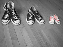 Chaussures roses Photographie stock libre de droits