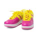 Chaussures roses de sport Image libre de droits
