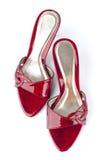 Chaussures rouges photographie stock libre de droits