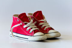 Chaussures rouges Photo libre de droits