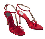Chaussures rouges Photos stock