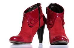 chaussures rouges Images stock