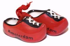 Chaussures rouges de la Hollande Photo libre de droits