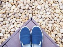 Chaussures sans lacets Images libres de droits
