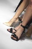 Chaussures sexy de mannequin Photos libres de droits